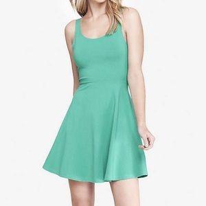 Express skater dress in mint green